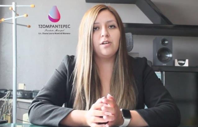 En 90 días, Diana Laura mostró voluntad para trabajar por Tzompantepec