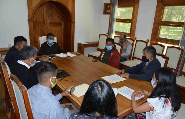 Acuerdan autoridades fortalecer conservación de La Malinche
