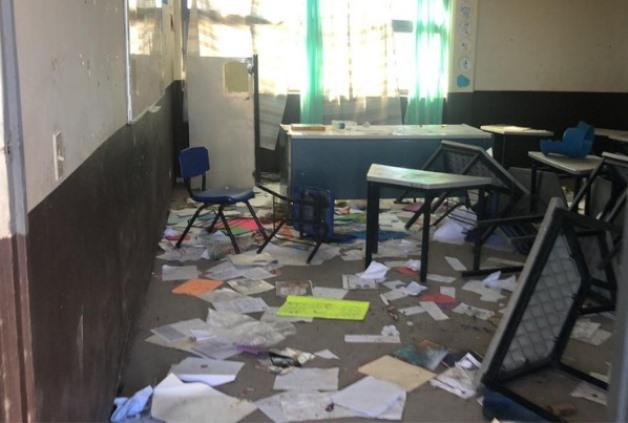 Ubican en municipios escuelas vandalizadas y sin servicios básicos
