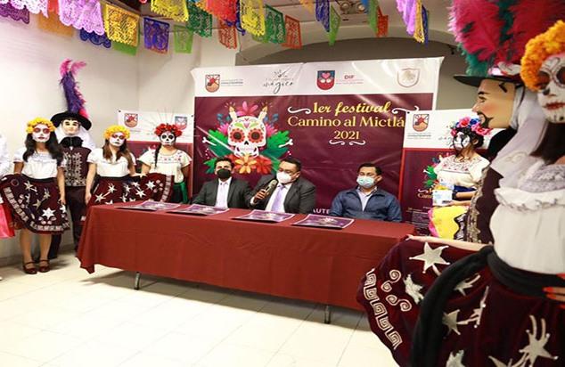 En Chiautempan se realizará primer Festival Camino al Mictlán 2021