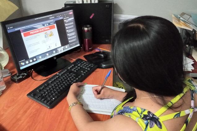 Recibe personal de la FGR en Tlaxcala capacitación en materia electoral