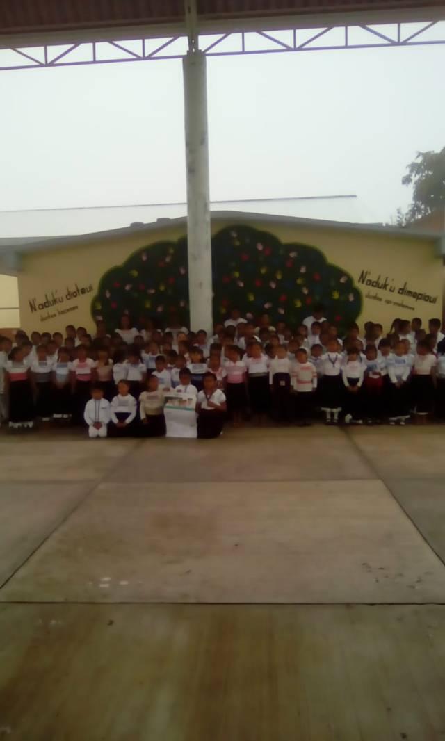Escuela primaria indígena de Ixtenco presente en el calendario escolar de Tlaxcala