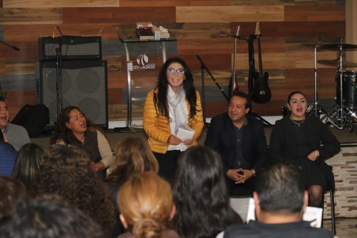 Integrantes del SNTSA se revelan y anuncian apoyo a Alejandra Ramírez