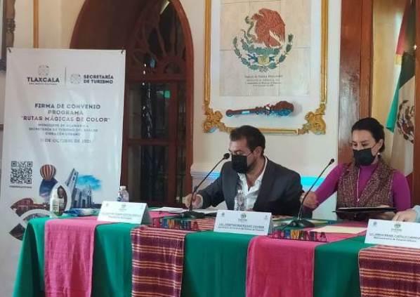 """Gestiona Presidente Municipal de Huamantla programa """"Rutas de Color"""""""