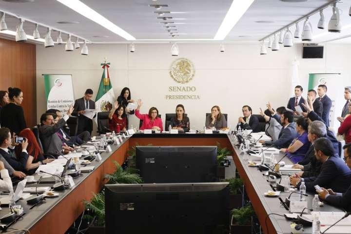 Aprueban Comisiones Unidas del Senado dictamen que reforma Ley Contra la Trata de personas