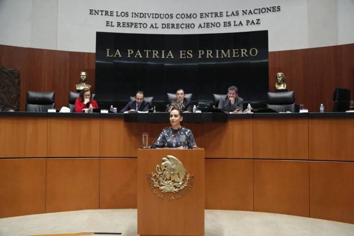 Designan a Adriana Dávila vicepresidenta de la Comisión Permanente del Congreso de la Unión
