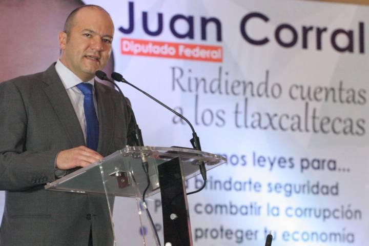 De frente a los tlaxcaltecas Juan Corral rinde cuentas de su actividad legislativa 2015-2017