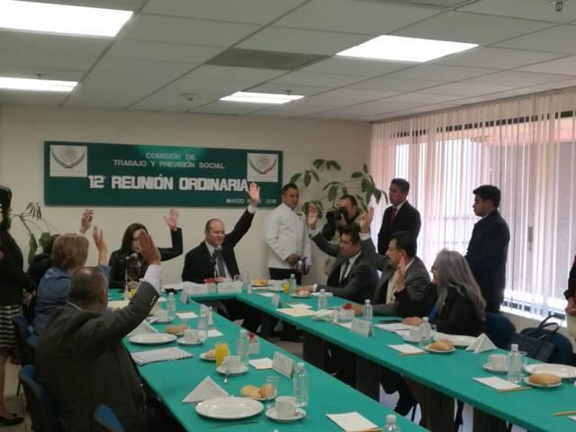 Avaló Juan Corral Mier iniciativas para reformar la Ley Federal del Trabajo