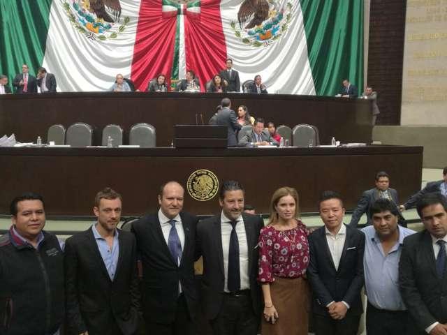 Abre Juan Corral oportunidad comercial entre México y Merlo, Argentina