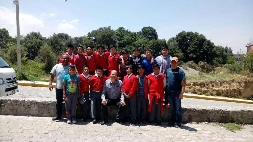Alumnos de  Cuahuixmatlac competirán en el torneo nacional de fútbol en Nayarit