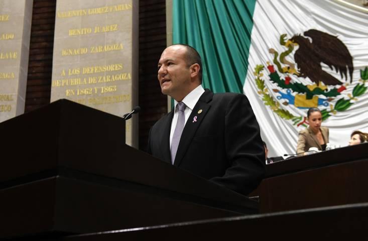 Juan Corral Mier pidió licencia para separarse del cargo de Diputado Federal