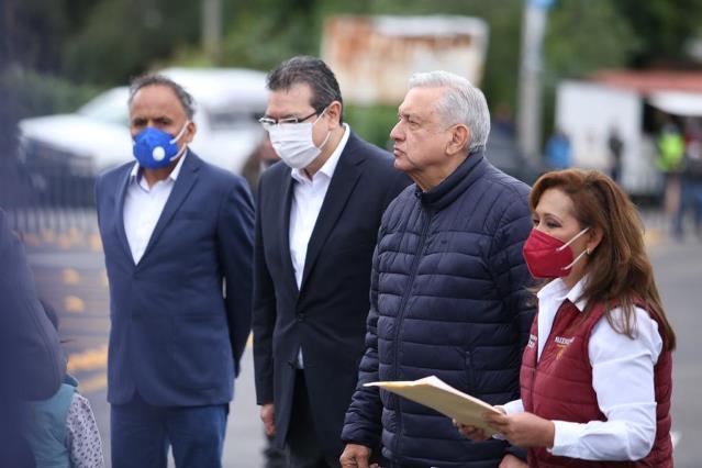 Presidente de México inaugura Paso Vehicular Ocotoxco