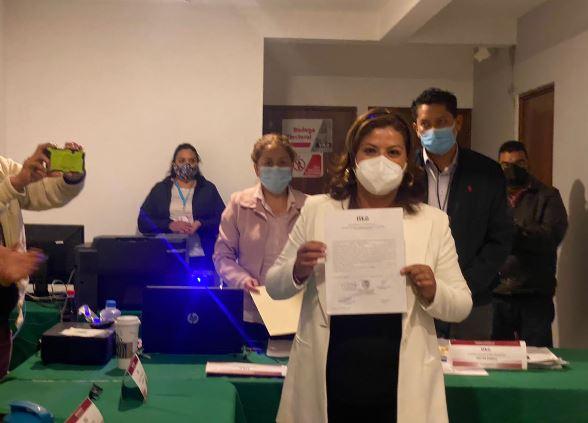 Gabriela Brito es diputada electa del distrito local  07; cumplirá sus compromisos