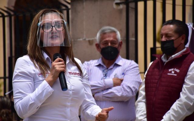 Legislar y gestionar oportunidades económicas, obras y techumbres ofrece Gardenia