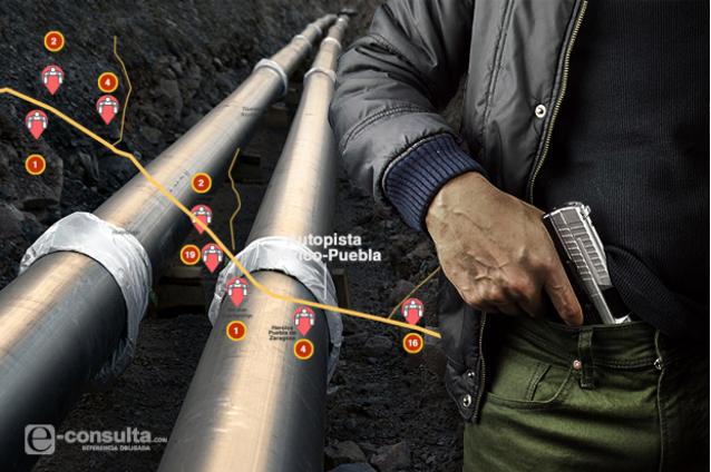 En Tlaxcala van aumentado las tomas clandestinas de combustible