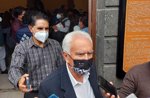 Afirma Jiménez que conflicto de límites territoriales se resolverá sin violencia