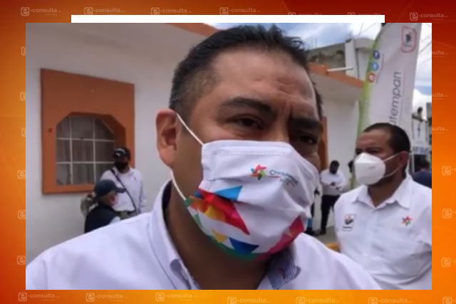 Proyecta Héctor Domínguez ejecutar 57 obras públicas en Chiautempan