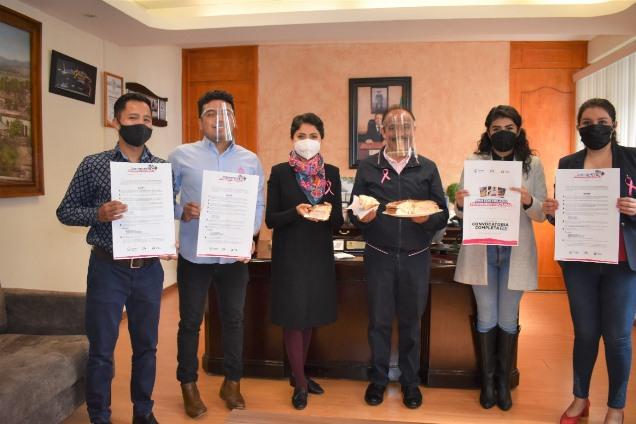 """Presentan el concurso """"Pan Con Helado patrimonio Cultural"""" en Zacatelco"""
