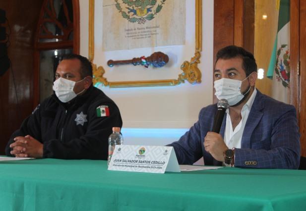 Anuncia alcalde de Huamantla operativo para retiro de comercio informal