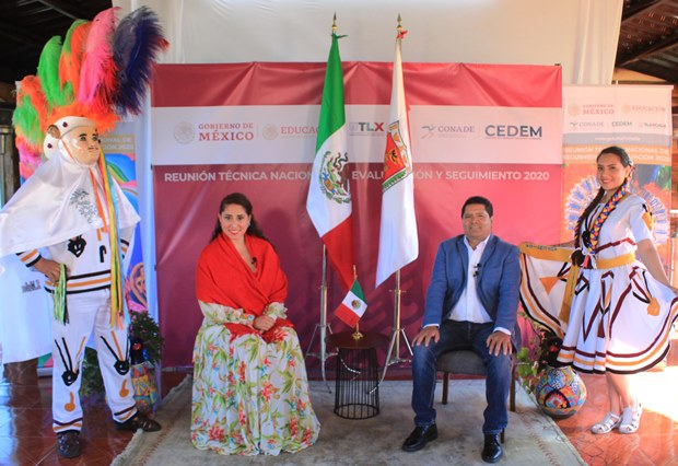 Reconoce Conade a Tlaxcala por resultados del programa CEDEM