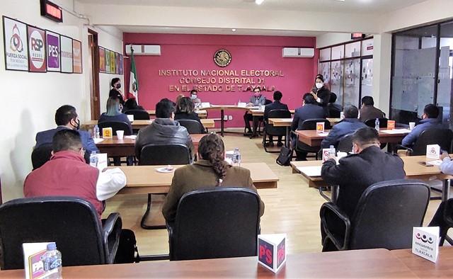 Civilidad y propuestas durante elección piden consejeros distritales de Tlaxcala