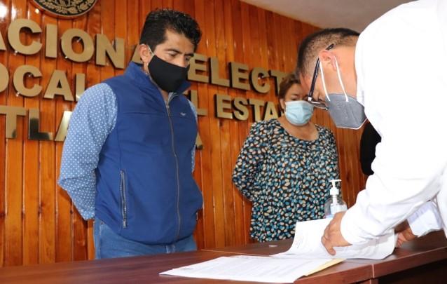 INE entrega a ITE lista nominal de electores para revisión