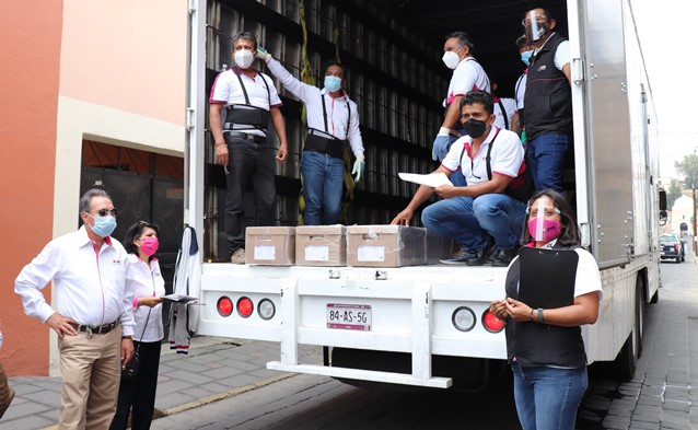 Llega a Tlaxcala lista nominal de la elección concurrente 2021