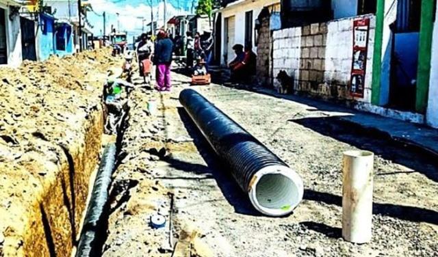 En Ixtacuixtla inicia renovación de drenaje en Santa Inés Tecuexcomac