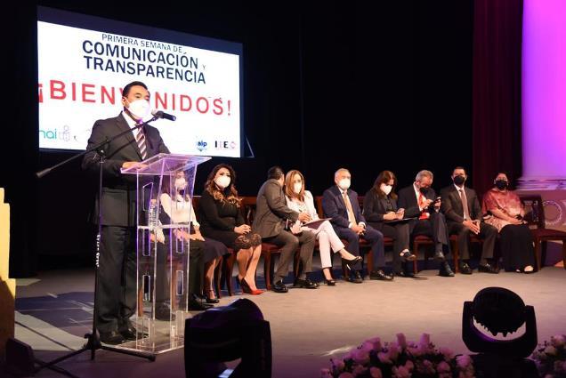 Se suma Tlaxcala Capital a Semana de la Comunicación y la Transparencia.
