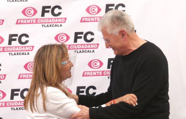 El Frente Tlaxcalteca cierra filas a favor de Lorena Cuéllar
