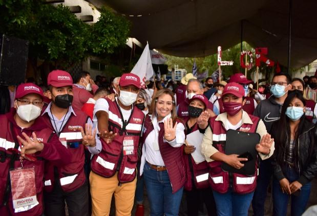 Lograr justicia social y multiplicar programas sociales busca Lorena Cuéllar