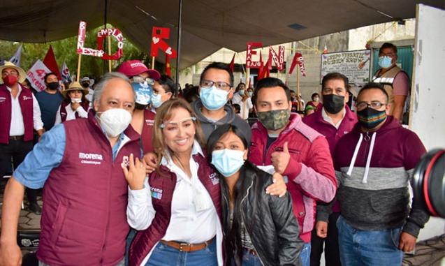 En mi gobierno multiplicaremos los apoyos sociales: Lorena Cuéllar
