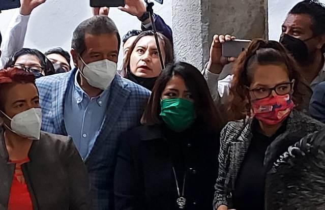 Maribel León a favor de que se garantice libre acceso al Congreso