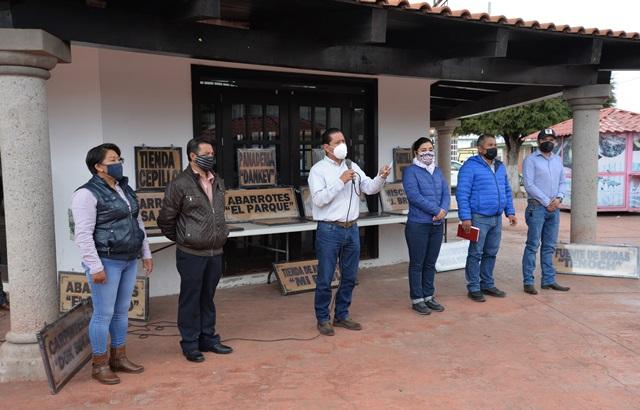 Mejorando imagen urbana en comunidades demuestra Nanacamilpa su avance