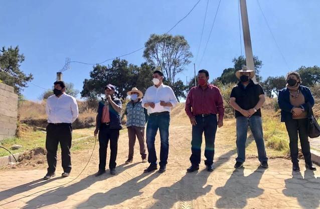 En Nativitas amplían red agua potable en Tenexyecac