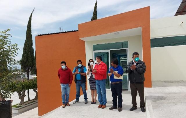 Inauguran nuevas instalaciones de la presidencia de comunidad de Capula