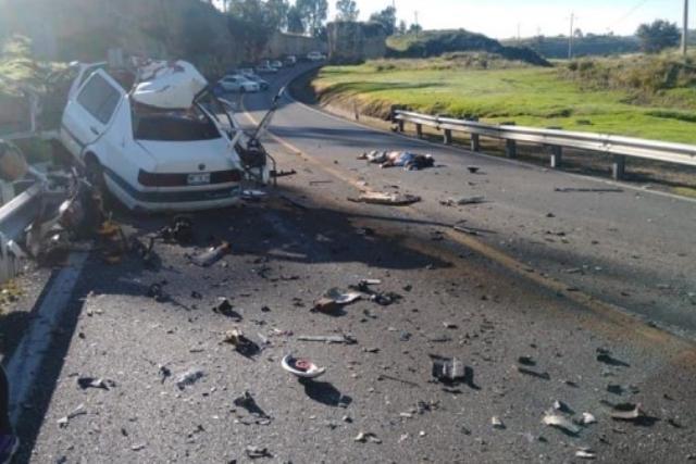 Muere una persona y varios lesionados en Calpulalpan