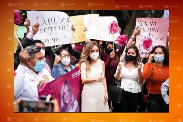Acosador de mujeres respalda registro de Dulce Silva en Morena