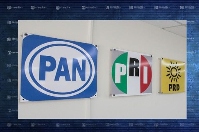PRI, PAN, PRD, PAC y PS también van juntos en las diputaciones federales