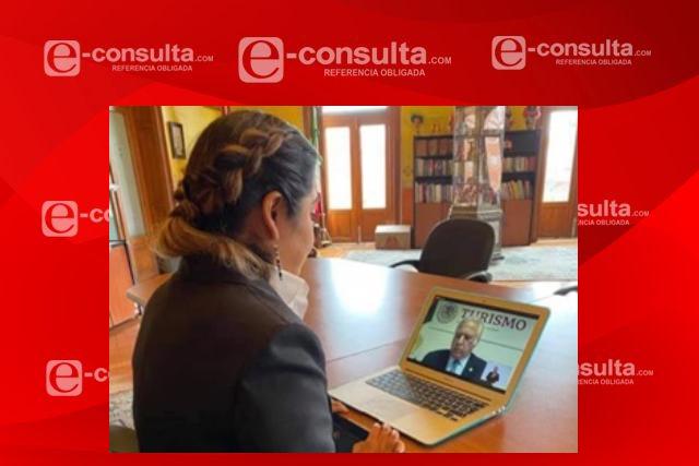 Alvarado participa en asamblea de la unión de secretarios de Turismo