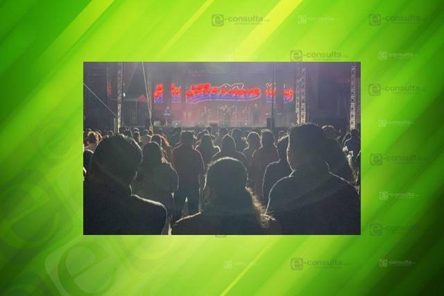Baile Covid en Contla congrega a mil gentes