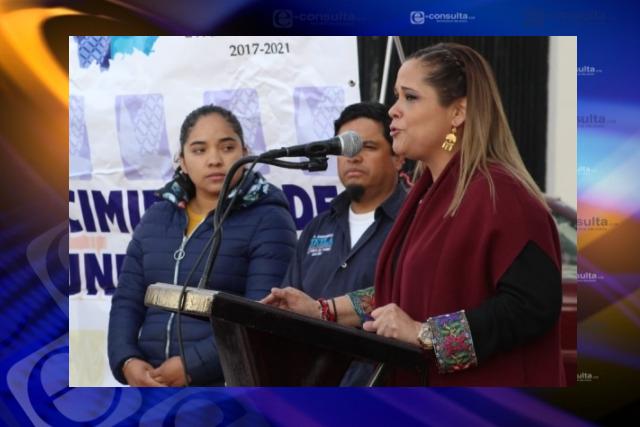 Michaelle Brito una diputada de resultados, dicen habitantes de Tlaxco