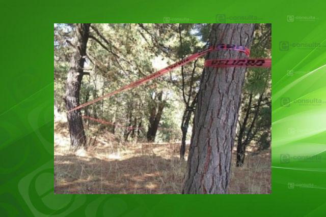 Localizan un cadáver en estado de descomposición en Chiautempan