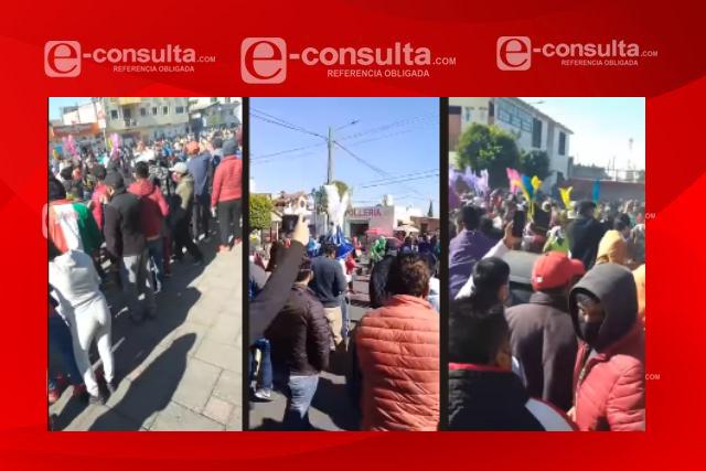 En Tenancingo se disfruta el carnaval y se pitorrean del Covid– 19