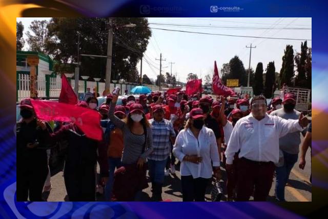Morena devolverá a Tzompantpec el progreso y la seguridad: Víctor Castro