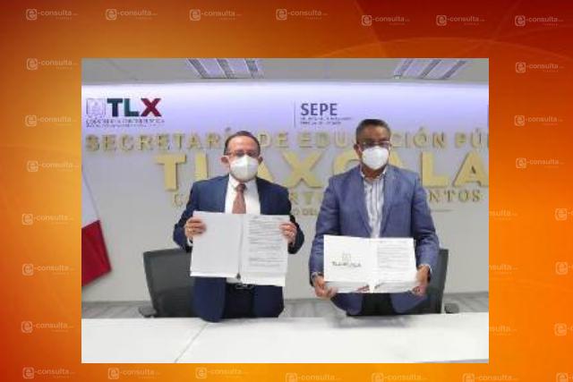 Firman convenio de colaboración la CEDH y la SEPE-USET