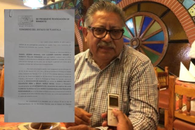 Ciudadanos exigen que Don Cheto deje el cargo por transa y corrupto