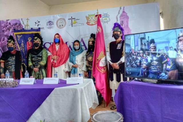 Celebración de la Semana Santa en Chiautempan será virtual