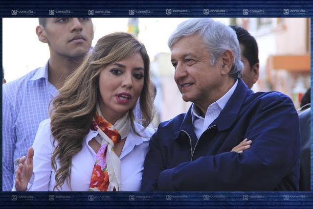 Dulce Silva de las beneficiadas por tener un esposo influyente en Morena