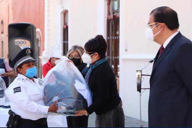 Refuerza alcalde Jorge Sánchez estrategias de seguridad en Huamantla